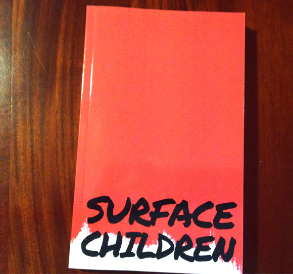 Author Dean Blake and Surface Children
